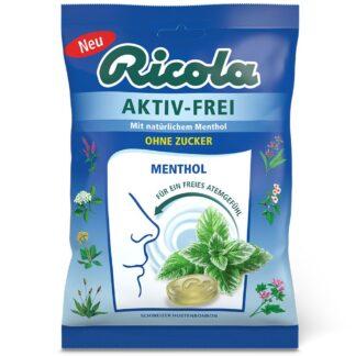 Ricola® Aktiv-Frei Menthol ohne Zucker
