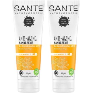 SANTE Naturkosmetik Anti-Aging Handcreme Doppelpack