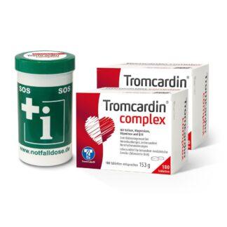 Tromcardin complex Set + Gratis Notfalldose