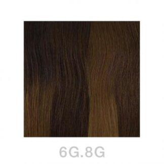 Balmain Tapeextensions 40cm 6G.8G Dark Gold Blond 2 Stk