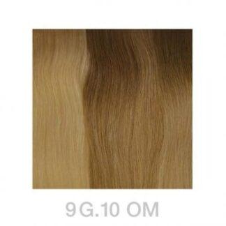 Balmain Tapeextensions 40cm 9G.10 OM Light Gold Blond Ombre 2Stk