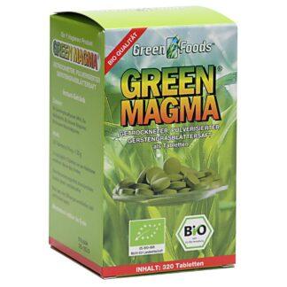 Green Magma® Gerstengrasextrakt Tabletten