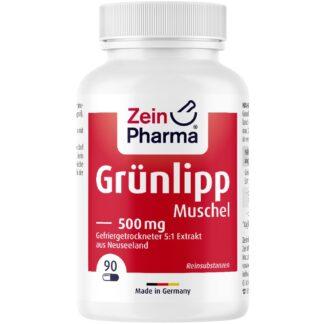 Grünlippmuschel Kapseln 500 mg ZeinPharma