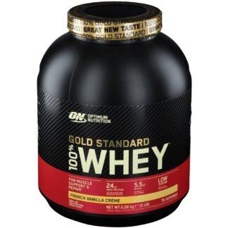 Optimum Nutrition 100 % Whey Gold Standard, French Vanilla Cream, Poudre