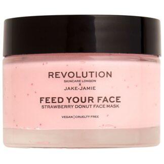 Revolution Skincare Gesichtsmasken Revolution Skincare Gesichtsmasken Revolution Skincare x Jake - Jamie Strawberry Donut Face Mask maske 50.0 ml