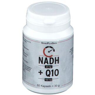 SinoPlaSan NADH 20 mg + Q10 100 mg