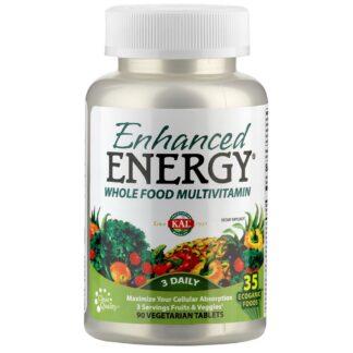 Enhanced Energy® Multivitamines à base d'aliments complets