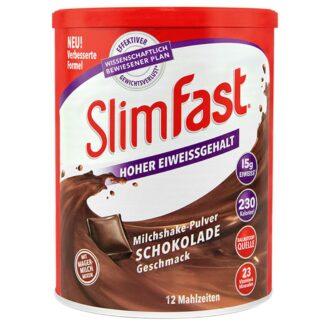 Slim Fast Milchshake-Pulver Schokolade