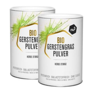 nu3 Bio Gerstengras Pulver