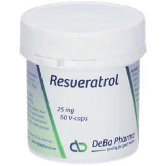 DeBa Pharma Resveratrol 25 mg