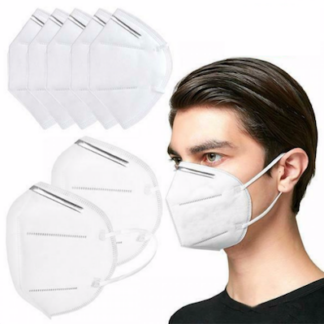 5PLY - 5 Layer Disposable Face Masks, KF95 Face Masks White