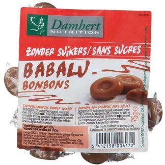 Damhert Babalu Karamell Bonbons ohne Zucker