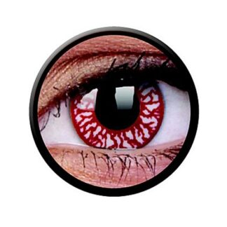 Funny Lens 2 Motiv-Drei-Monatslinsen Blood Shot