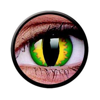 Funny Lens 2 Motiv-Drei-Monatslinsen Green Dragon