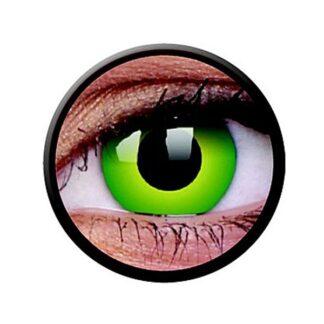 Funny Lens 2 Motiv-Drei-Monatslinsen Hulk Green