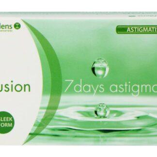 Fusion 7 Days Astigma 12 Wochenlinsen
