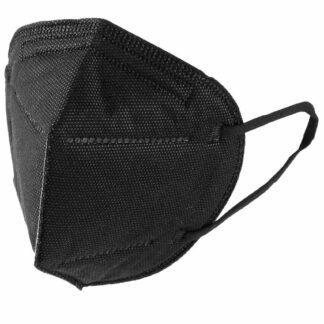 Premium K95 Black Disposable Face Masks - 250 Masks