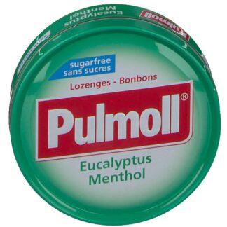 Pulmoll® Hustenbonbons Eukalyptus - Menthol ohne Zucker