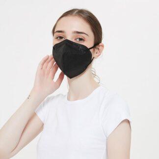 Standard Disposable Face Masks - Black