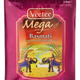 Veetee Mega Premium Basmati Rice 20 Kg